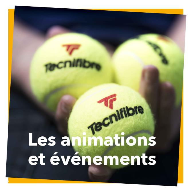 les animations et événements du Tennis Ronchin Club