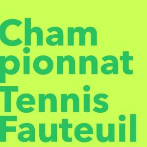 Championnat Tennis Fauteuil